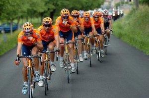 Spanish Team Euskaltel Euskadi